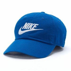 Nike Blue Futura Washed H86 Cap